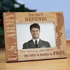 Personalized U.S. Army Wood Picture Frames