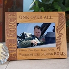Personalized U.S. Air Force Wood Picture Frames