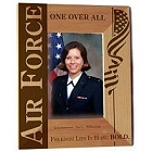 Personalized Vertical U.S. Air Force Wood Picture Frames