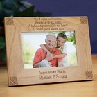 Never Be Forgotten Personalized Memorial Wood Picture Frames