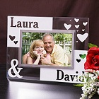 Just the Two of Us Personalized Glass Picture Frame