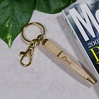 Engraved Maple Wood Pen Key Chain