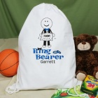 Personalized Ring Bearer Sports Bags