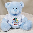 Little/Middle/Big Brother Star Personalized Plush Teddy Bear