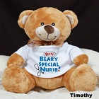 Beary Special Nurse Personalized Plush Teddy Bear