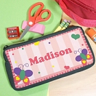 Butterfly Personalized School Pencil Case