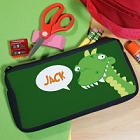Dinosaur Personalized School Pencil Case