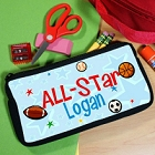 All-Star Personalized School Pencil Case