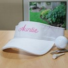 Embroidered Womens Sun Visor