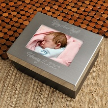 Engraved Lasting Memories Keepsake Box