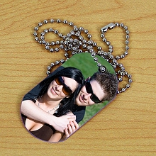 Picture Perfect Photo Dog Tags
