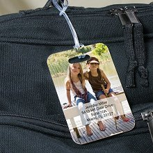 Personalized Travel Photo Luggage Tagss