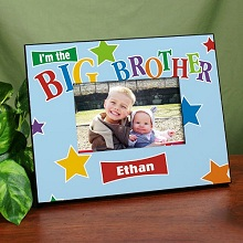 Little/Middle/Big Brother Star Personalized Printed Picture Frames