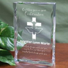 Confirmation Personalized Scalloped Keepsakes