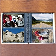Personalized Vacation Wood Photo Albums