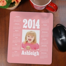 Personalized Photo Calendar Mousepads