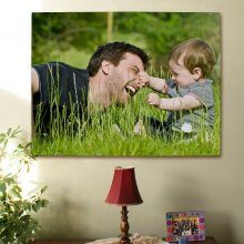 Custom Printed Digital Picture Wall Canvas