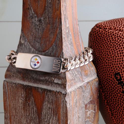 Officially Licensed Engraved NFL Fan Bracelets