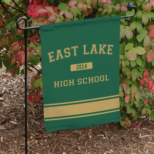 Personalized High School Pride Garden Flags