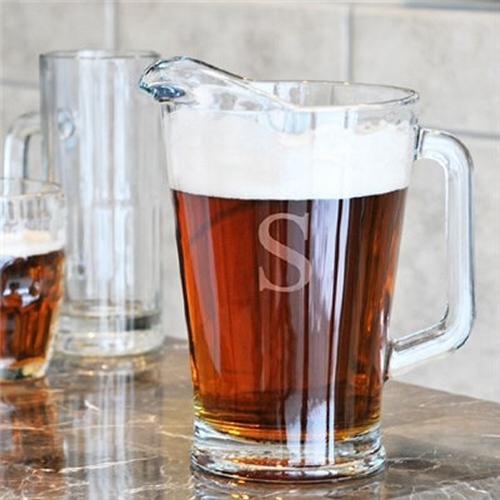 Engraved All Purpose Glass Pitchers