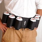 Personalized Joe Sixpack Embroidered Beer Belt