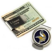 Engraved NFL Emblem Moneyclips