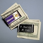 NFL Emblem Engraved Money Clip