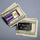 NFL Emblem Engraved Football Money Clips