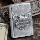 Personalized Zippo Harley-Davidson Iron Eagle Lighter