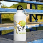 Personalized Tennis Ball Water Bottles