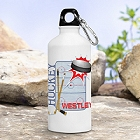 Personalized Hockey Water Bottle
