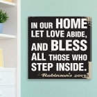 In Our Home Personalized Family Canvas Prints