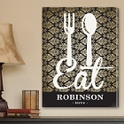 Personalized Bistro Sign Canvas Prints