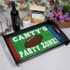 Football Party Personalized Serving Tray