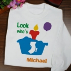 Look Who's Primary Youth Birthday Sweatshirt