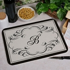 Script Initial Personalized Kitchen Cutting Boards