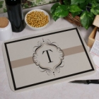 Personalized Initial Kitchen Cutting Boards