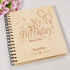 21st Birthday Engraved Memories Photo Album