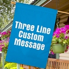 Personalized Any Message House Flags