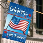 Personalized USA Pride House Flags