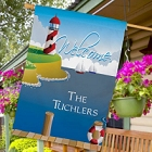 Personalized Lighthouse House Flags