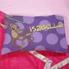 Personalized Monkey Youth Pillow