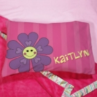 Personalized Flower Youth Pillow