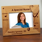 A Special Nurse Personalized Wood Picture Frames