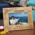 Personalized Deep Sea Fishing Wood Picture Frames