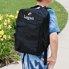 Personalized Embroidered Football Icon Backpacks