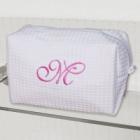 Monogrammed Cosmetic Makeup Bag