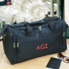 Personalized Embroidered Travel Duffel Bag