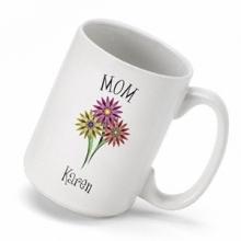 Personalized Bouquet Coffee Mugs