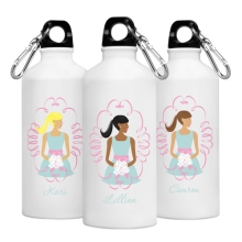Personalized Wedding Attendants Going to the Chapel Water Bottles